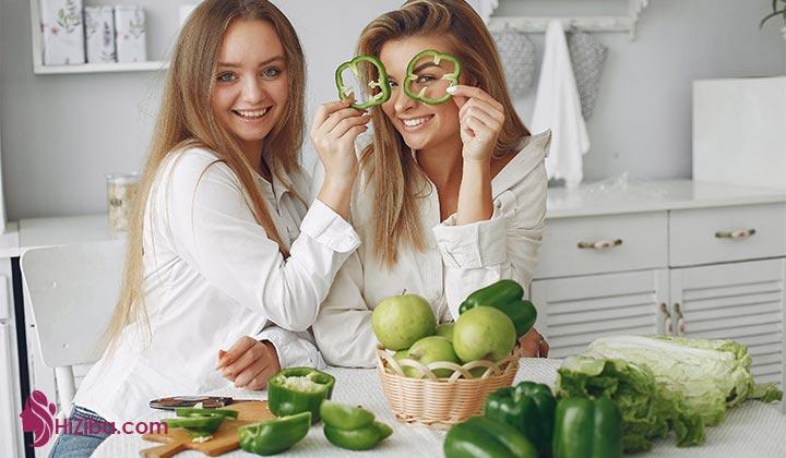 رژیم 40 روزه خام گیاه خواری چیست؟ دستور رژیم خام گیاهخواری