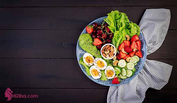 شام کتوژنیک سالم و خوشمزه با 6 دستور ساده برای ایرانی ها