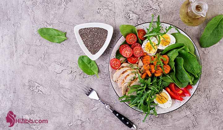 برنامه غذایی کتوژنیک