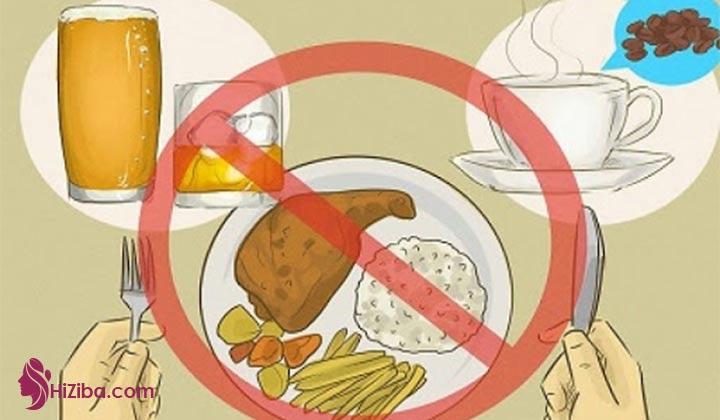 غذاهای غیر مجاز رژیم غذایی کتو
