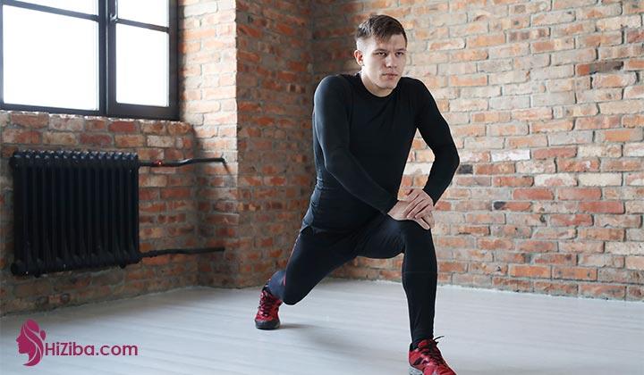 حرکت ورزشی برای لاغری ران پاها