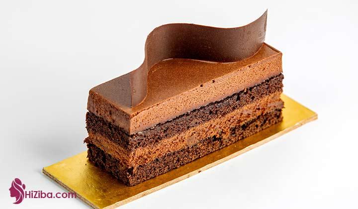 طرز تهیه کیک کتوژنیک با طمع کارامل