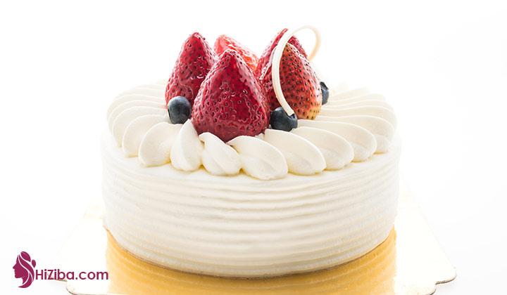 1.طرز تهیه کیک کتوژنیک با طعم وانیل