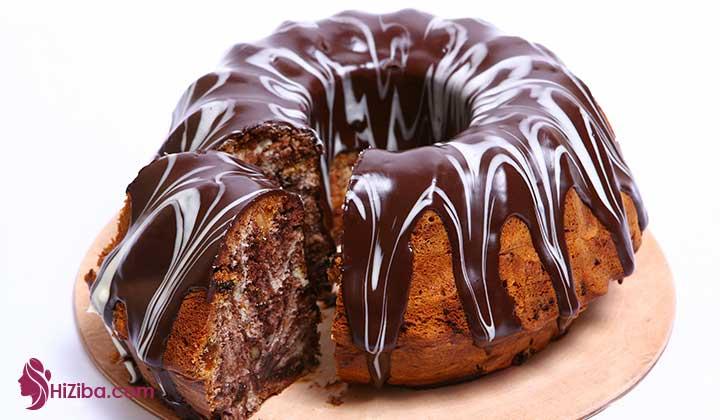 طرز تهیه کیک کتوژنیک با طعم شکلات