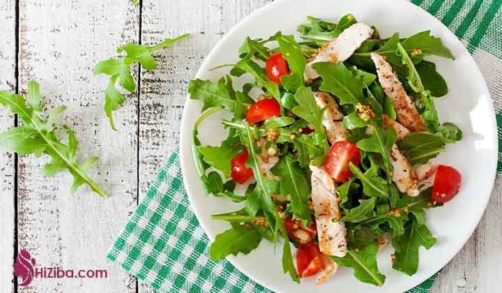3.مرغ ایتالیایی و سبزیجات