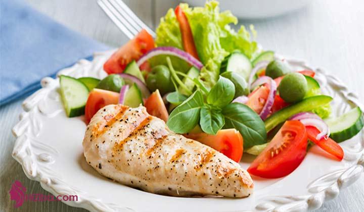 در این دوره چه قدر باید پروتئین بخورم ؟