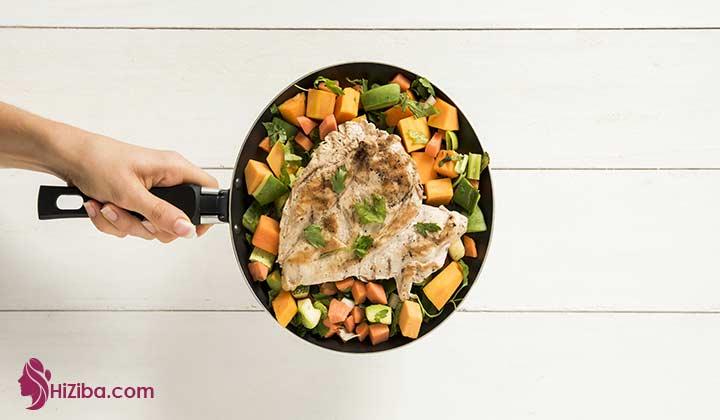 6 غذای گیاهی مخصوص رژیم پروتئین و سبزیجات