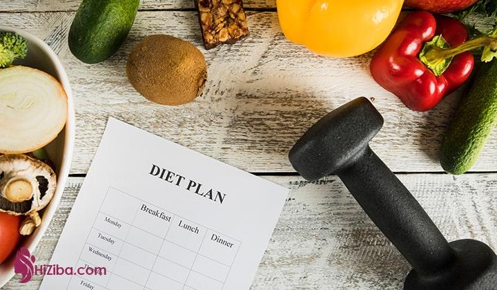 برنامه غذایی پروتئین دار چیست ؟