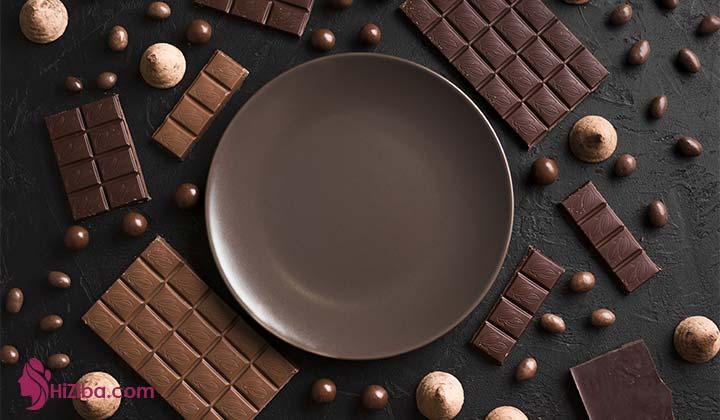 شکلات تلخ در رژیم کتوژنیک
