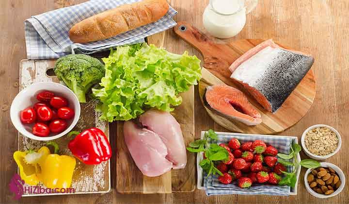 رژیم دوران بارداری و مصرف پروتئین: