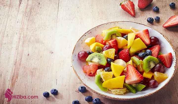 میوه ها و سبزیجات که برای بانوان باردار توصیه می شوند: