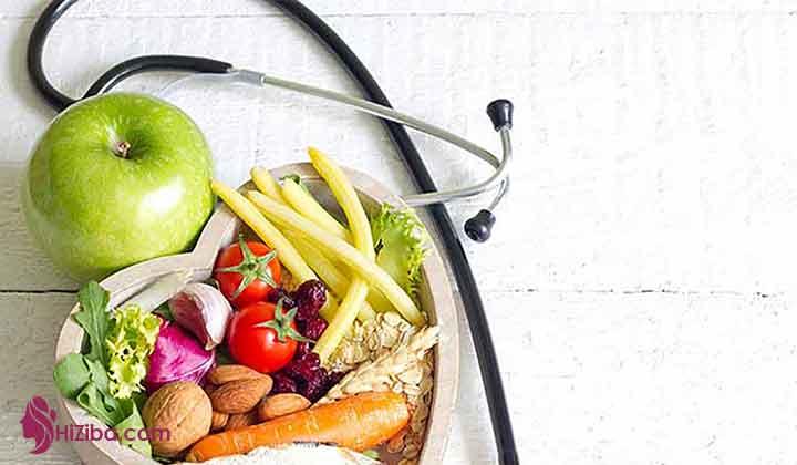 نمونه برنامه غذایی هفتگی سالمندان