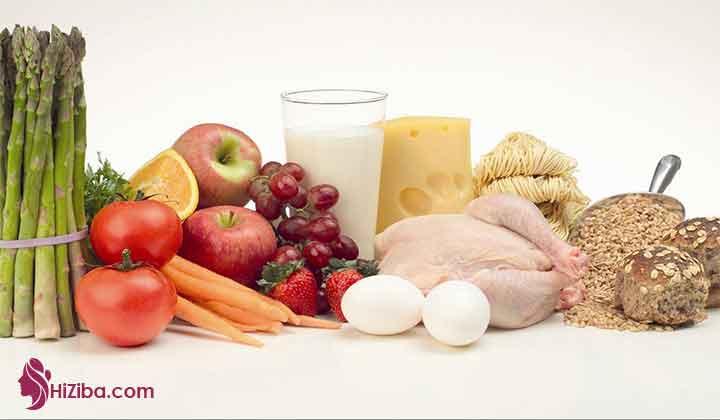 منوی غذای سالمندان و غذاهای مجاز