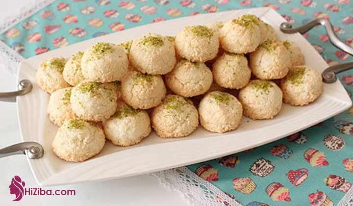 نحوه پخت شیرینی نارگیلی کتوژنیک