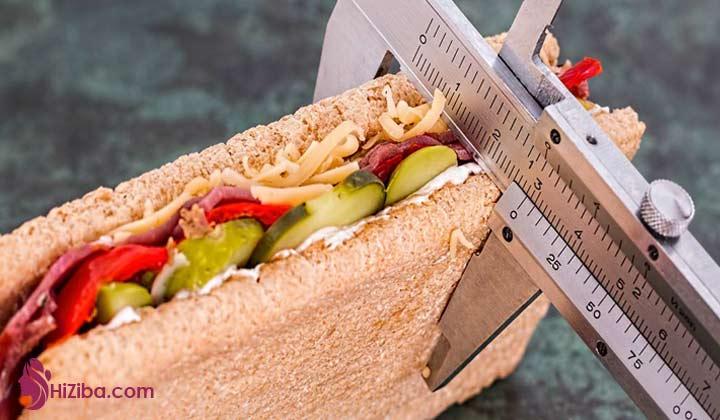تنظیم برنامه غذایی برای کاهش وزن چگونه است؟