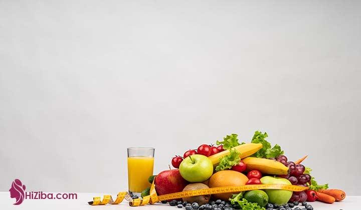 ورزش در خانه  برای لاغری شکم و تغذیه مناسب برای آن