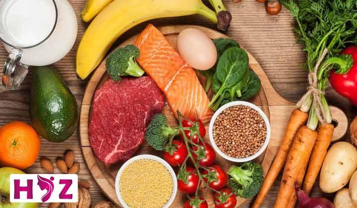 برنامه غذایی سالم و مقوی
