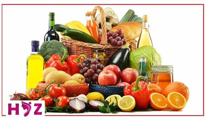 ویژگی یک رژیم غذایی سالم