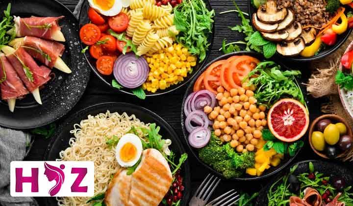 مصرف غذاهای حجیم و کم انرژی در برنامه ی رژیم ولومتریک