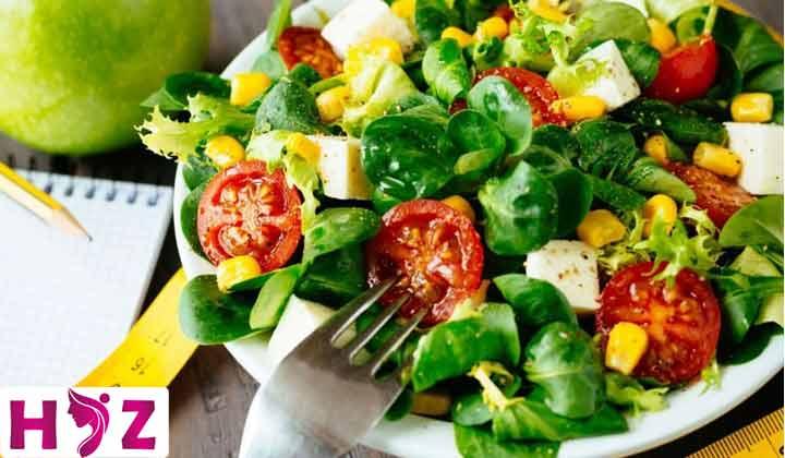 میوه و سبزیجات جز اصلی رژیم ولومتریک