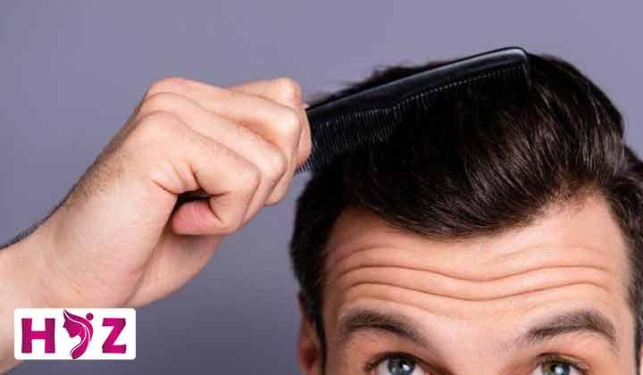 چربی سر بعد از کاشت مو طبیعیه یا نه؟