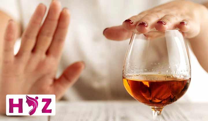در این دوره نباید از الکل استفاده بشه
