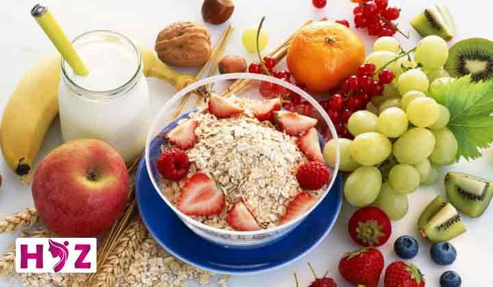 صبحانه خام گیاه خواری
