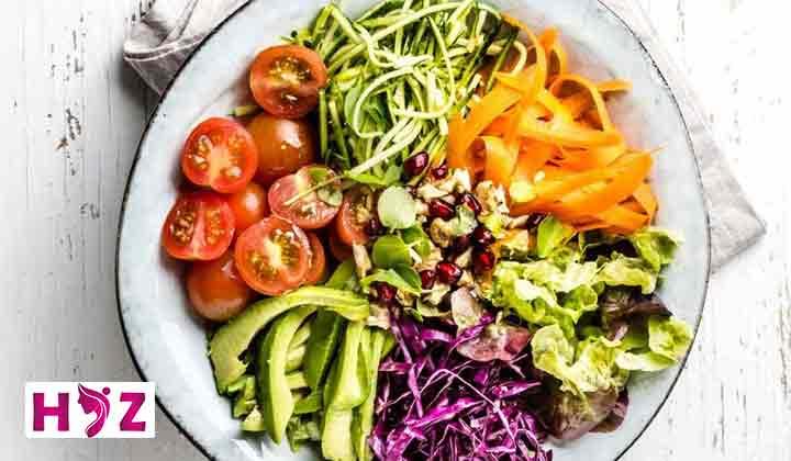 انواع رژیم خام گیاه خواری برای لاغری سریع