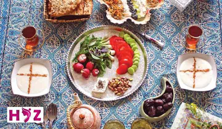 رژیم لاغری کانادایی در ماه رمضان