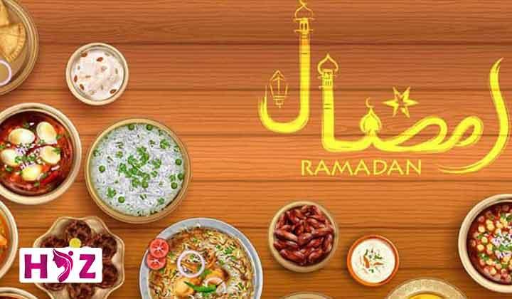 نمونه رژیم غذایی ماه رمضان