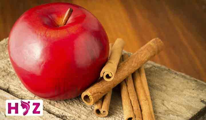 رژیم سیب و دارچین