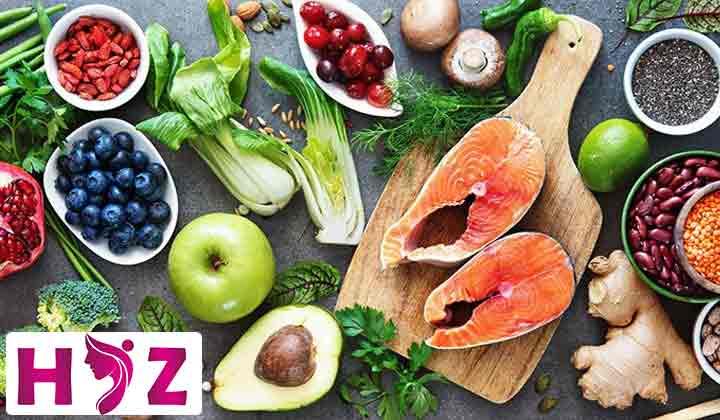 روش چشمی برای طراحی وعده های غذایی در رژیم غذایی زون: