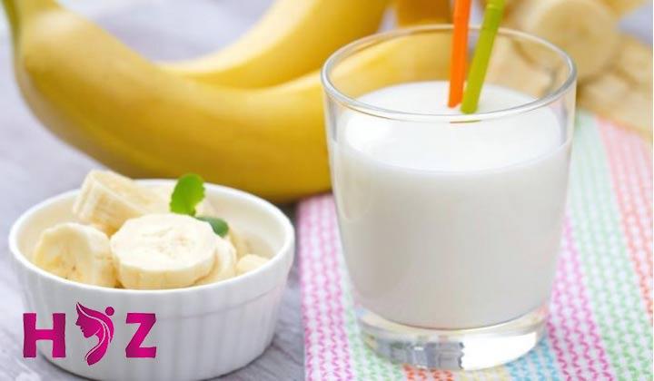 رژیم موز و شیر برای کاهش وزن